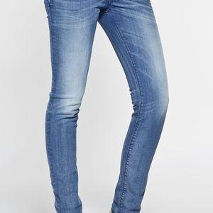 Diesel Women's Light Wash Nevy Fit Skinny Jeans